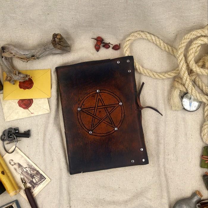 Jurnal Vintage Pentagrama